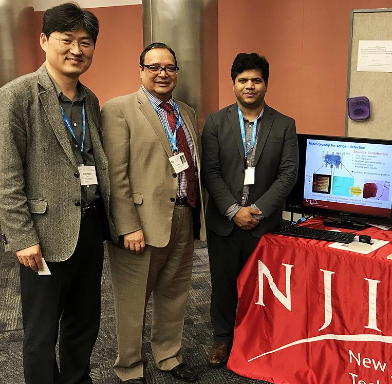HI-POCT2017 Showcase- Dr. Lee (left) with Dr. Atam Dhawan and Bharath Nunna HI-POCT2017 Showcase- Dr. Lee (left) with Dr. Atam Dhawan and Bharath Nunna